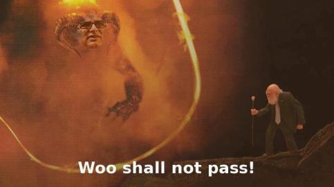 Woo Shall Not Pass